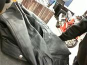 WILSONS LEATHER Coat/Jacket BLACK LEATHER COAT (XL)